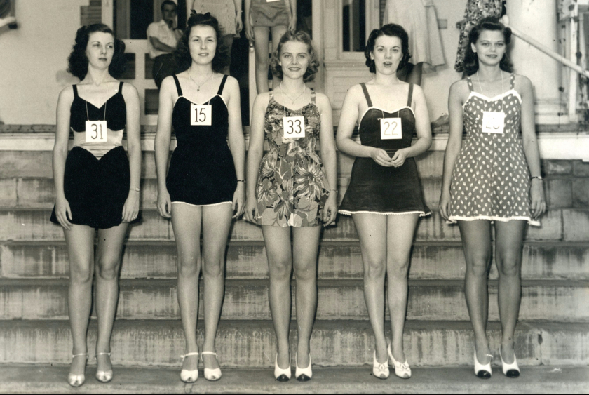 1941 Convention beauty contest finalists