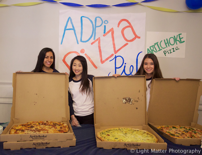 3rd Annual 'Pizza Pie' at University of California, Berkeley, Is a Huge Success!